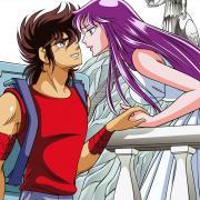 Seiya and Saori by Locofuria's team.