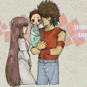 Pegasus Seiya x Saori by Km92