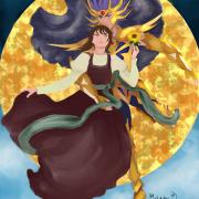 Saint Seiya Deathmask x Helena