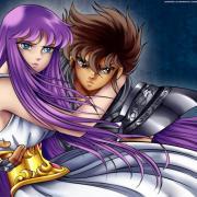 Seiya and Saori, LOS poster