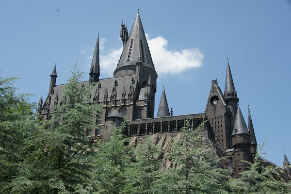 Harry potter le chateau