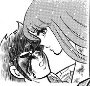 Saint seiya kissing saori et seiya